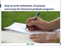 Writing A Convincing Personal Statement For Grad School     Part