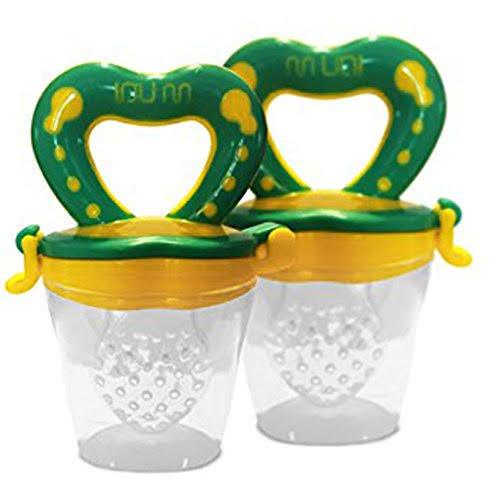 Baby Food Feeder Pacifier - 2 Pack