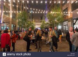 outside party industry city sunset park brooklyn nyc stock photo