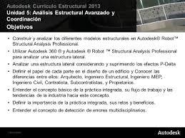 análisis estructural avanzado y coordinación ppt descargar