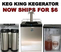 Homebrew Kegerator New Low Priced Keg King Kegerator Ships For Just 6 99