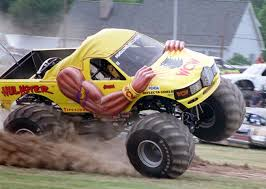 bigfoot monster truck wiki where are they now the hulkster and dungeon of doom monster