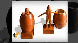 barrel man funny craft wooden carving home decor youtube