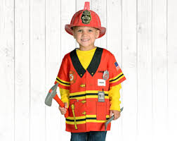 Halloween Costumes Firefighter Halloween Costume Kids Firefighter Costume Personalized