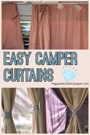 Pop Up Camper Interior Ideas by Happiest Little Camper How To Make New Curtains Camping Tents