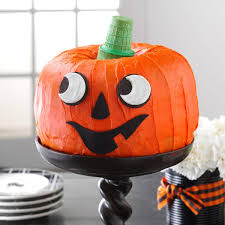 Halloween Cake Mix Cookies by Jack O U0027 Lantern Cake Recipe Taste Of Home