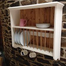 Kitchen Plate Rack Cabinet by Kitchen Terrific Wall Mounted Dish Drying Rack To Make The House