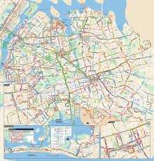 Map New York City by Large Detailed Queens Bus Map Nyc New York City Queens Large