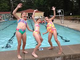 fifth grade girls swimteam Wilber-Clatonia Public Schools