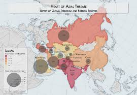 Thematic Maps Heart Of Asia Thematic Maps Cooper Thomas