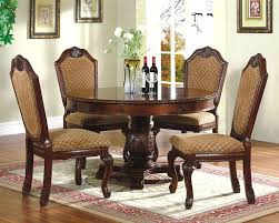 dinette sets the flat decoration classic round dining room table