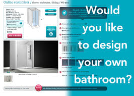 Design My Bathroom Online by Would You Like To Design Your Own Bathroom