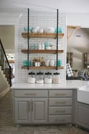 Kitchen Shelf Decorating Ideas Best 25 Open Kitchen Shelving Ideas On Pinterest Kitchen