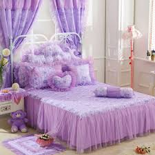 Purple Bed Sets by Online Get Cheap Purple Bed Skirts Aliexpress Com Alibaba Group