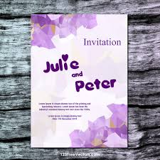 Editable Wedding Invitation Cards Free 260 Wedding Invitation Templates Vectors Download Free Vector
