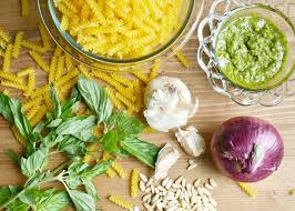 Pasta Salad Ingredients Pesto Pasta Salad Recipe For Picnics Angie U0027s List