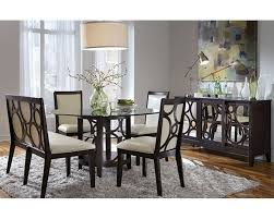 Discount Dining Room Sets Free Shipping by Najarian Formal Dining Set W Round Table Planet Na Pl7set