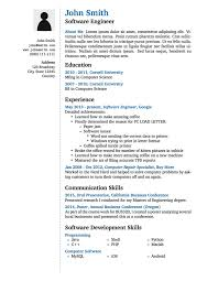 What Is Job Profile In Resume by Latex Templates Curricula Vitae Résumés