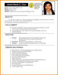 Jobs Freshers Resume Layout by 11 Freshers Resume Samples In Word Format Invoice Template