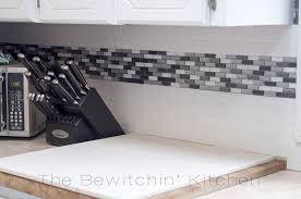 Classic Kitchen Design With Unfinished Natural Brick Peel Stick - Peel on backsplash