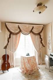 debutante austrian swags style swag valance curtain set pink peony