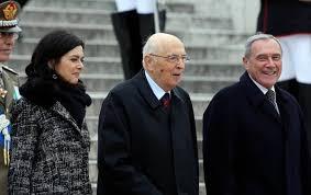 Boldrini, Napolitano, Grasso