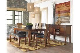 Ralene Dining Room Table Ashley Furniture HomeStore - Ashley furniture dining table with bench