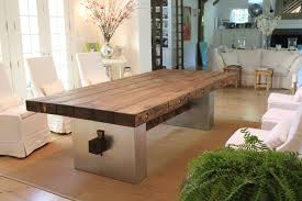 Custom Barn Wood Dining Table By JR Signature Creations - Barnwood kitchen table