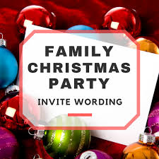 difference between christmas and thanksgiving family christmas party invitation wording