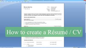 Write Your Own Cv How To How To Write Your How To Write   Brefash