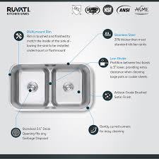 ruvati rvm4350 undermount 32