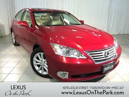 lexus of toronto used cars 2012 lexus es 350 red youtube