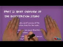 Writing a dissertation   YouTube A Brief Introduction To Literature Review Dissertation Writing