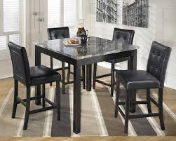 amazon com ashley d154 223 maysville black square counter table