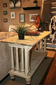 Antique Kitchen Island by Sofa Table Kitchen Island Buffet Made From Reclaimed Antique