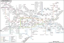 Sf Metro Map by London Tube Map London Underground Map