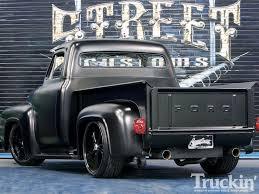Old Ford Truck Model Kits - 1955 ford f100 20 inch rims truckin u0027 magazine