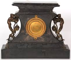 Ansonia Mantel Clock Ansonia Rosalind Iron Mantle Clock