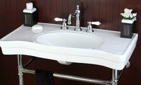 How To Uninstall A Kitchen Faucet How To Remove A Bathroom Sink Overstock Com