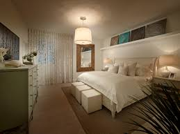 california king headboard in bedroom beach style with floating