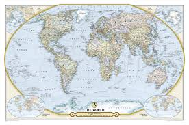 World Map Pinboard by 125th Anniversary World Map Wall Maps