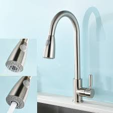 How To Open Kitchen Faucet by Kitchen Sink Faucets Amazon Com Kitchen U0026 Bath Fixtures