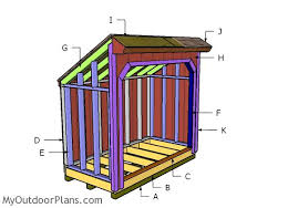 Free Saltbox Wood Shed Plans by Firewood Shed Myoutdoorplans Free Woodworking Plans And