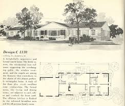 Vintage Home Design Plans 1960 Ranch Style Homes 1960s House Floor Plans Vintage Home