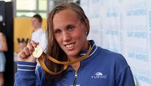 Esta tarde en la piscina del Sant Andreu en Barcelona, durante la disputa de la primera etapa del Mare Nostrum, Marina García ha batido el record de España ... - MarinaGarcia4
