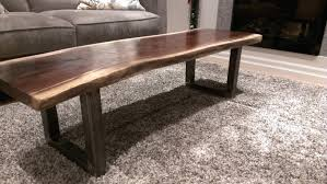 coffee tables exquisite live edge dining table raw wood coffee