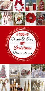Homemade Christmas Decorations by Best 10 Easy Christmas Decorations Ideas On Pinterest Diy
