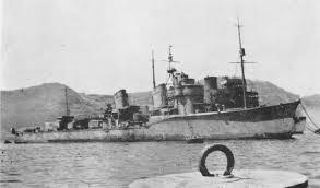 Japanese destroyer Ushio