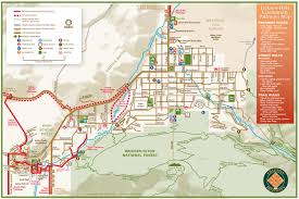Wyoming Map Usa by Jackson Hole Wyoming Paved Trail System Alltrips