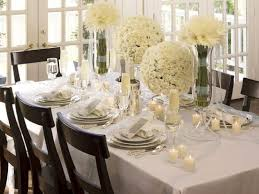 elegant dining table decor